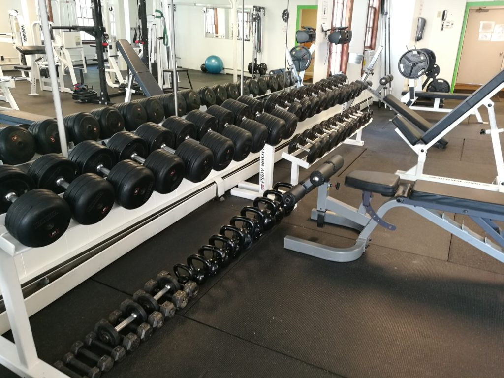 Alton Gym Free Weights